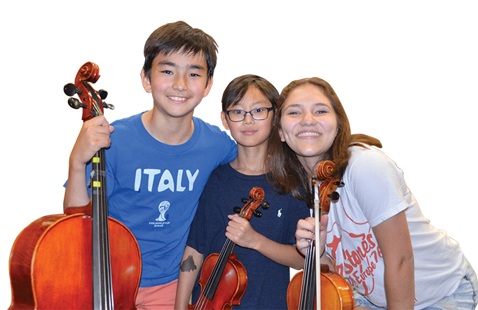 String Society Welcomes Project Trio to Summer 2018 Program