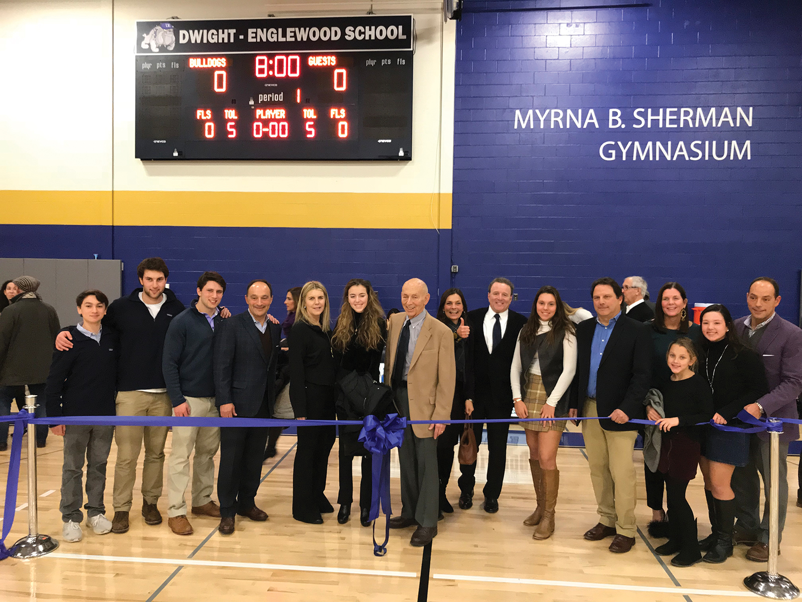 Myrna B. Sherman Gym Dedication