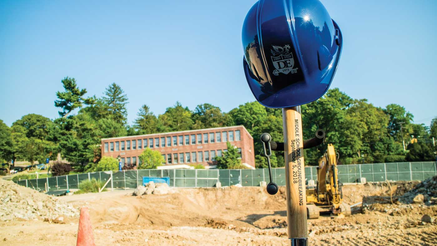 BREAKING GROUND FOR THE NEW MIDDLE SCHOOL: PROGRESS TOWARD THE VISION OF THE VILLAGE PROJECT