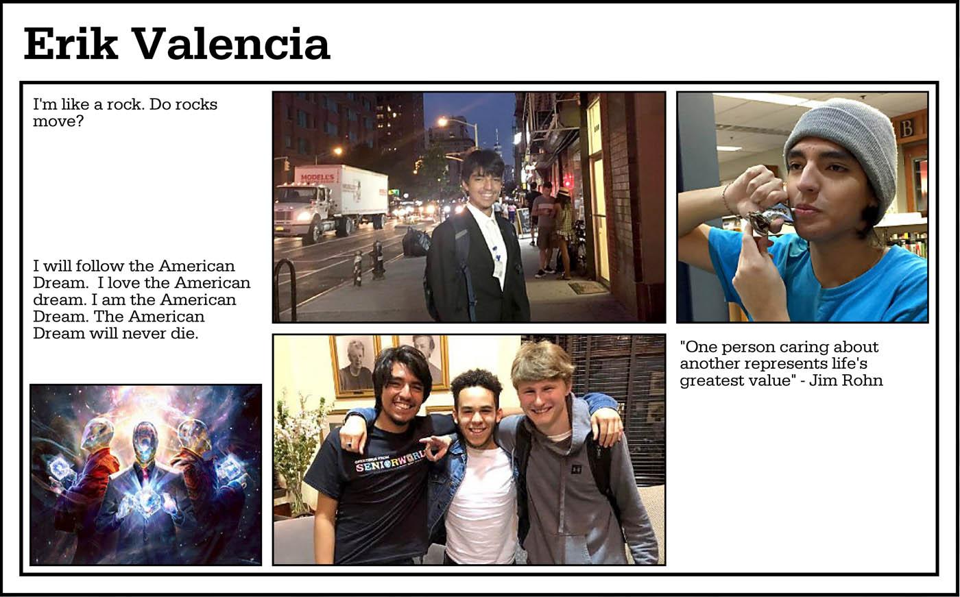 Valencia, Erik