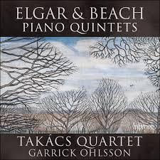 ELGAR &BEACH PIANO QUINTETS